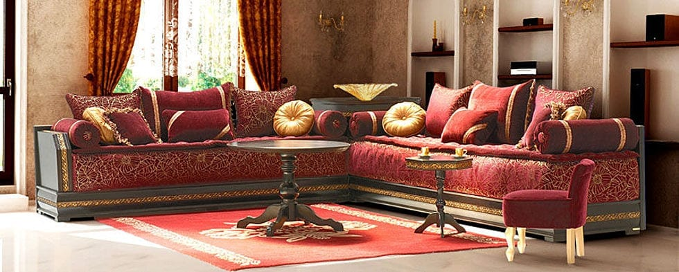 salon marocain nouveaut grenad dor 2. Black Bedroom Furniture Sets. Home Design Ideas