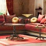 الصالونات المغربية بالطراز الحديث 12