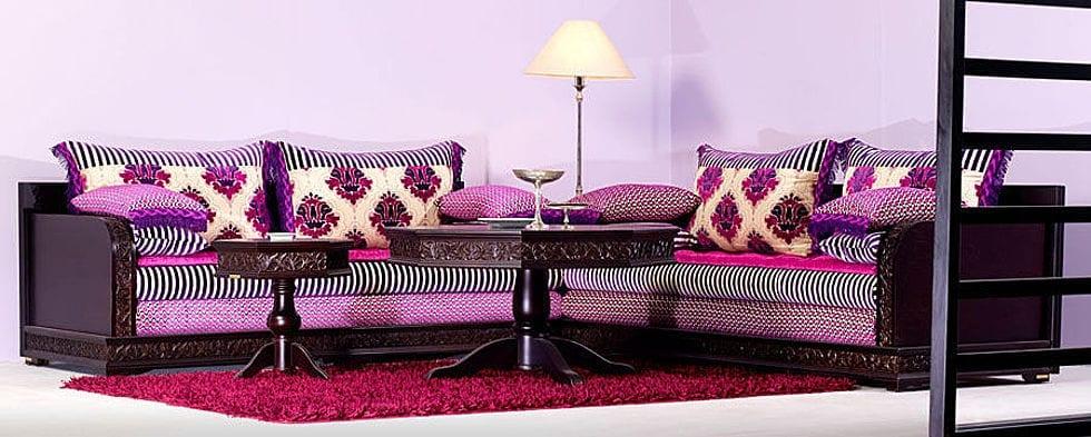 Photo Salon Marocain. Perfect Meuble Oriental Meuble Salon Marocain ...
