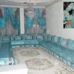 Sowar kaftan maghribi car interior design for Salon maghribi