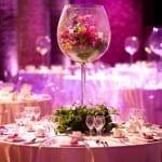 تزيين طاولات الأعراس 1