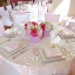 تزيين طاولات الأعراس 11