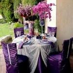 تزيين طاولات الأعراس 17