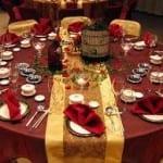 تزيين طاولات الأعراس 8