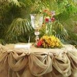 تزيين طاولات الأعراس 9
