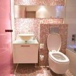 Salle de bain Rose 2