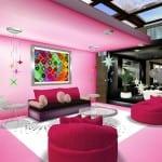 تصاميم جميلة و مختلفة بالون الوردي 11