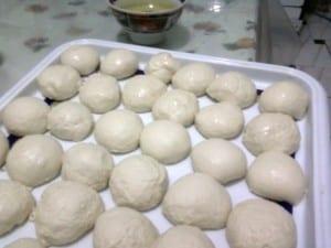 الخبز المغربي باالسكر و الزبدة 3