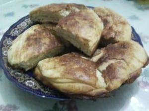 الخبز المغربي باالسكر و الزبدة 7