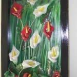 مجموعة جميلة و حديثة من ابتكارات رائعة، لوحات و ديكورات المزخرفة بعجينة السيراميك 1