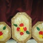 مجموعة جميلة و حديثة من ابتكارات رائعة، لوحات و ديكورات المزخرفة بعجينة السيراميك 17