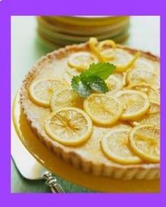 كيك الليمون