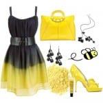تشكيلة من الأزياء بألوان صيف 2012 - 13