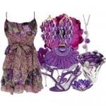 تشكيلة من الأزياء بألوان صيف 2012 - 4