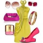 تشكيلة من الأزياء بألوان صيف 2012 - 5