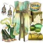 تشكيلة من الأزياء بألوان صيف 2012 - 9