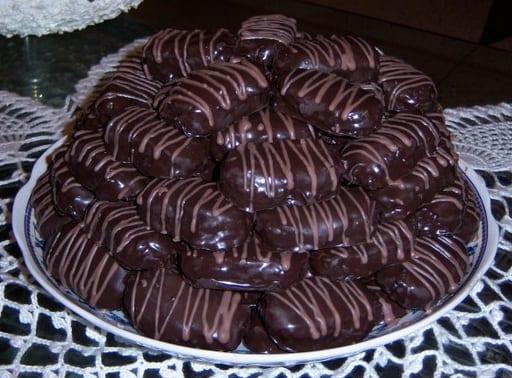 طريقة تحضير حلوة الشوكولاتة و الفول السوداني