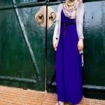 فساتين حجاب للبنات لنهاية صيف 2012 - 1