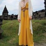 فساتين حجاب للبنات لنهاية صيف 2012 - 2