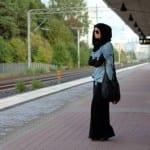 فساتين حجاب للبنات لنهاية صيف 2012 - 4
