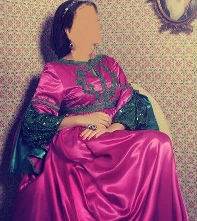 تشكيلة حصرية من قفطان النجوم- سيرين عبد النور - قفطان 2013 - 11