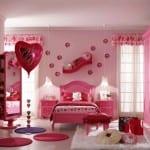 ديكورات جميلة بالون الوردي للبنات - 1