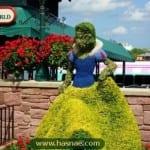صور جميلة لتماثيل مصنوعة من الاعشاب والازهار 3