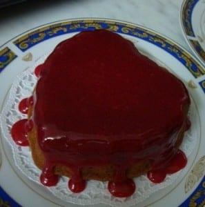 طريقة تحضير كيكة قلب بالشكولاتة لعيد الام