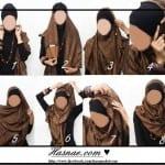 ربطات حجاب خطوة خطوة بالصور - 3