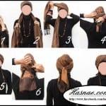 ربطات حجاب خطوة خطوة بالصور - 6