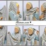 ربطات حجاب خطوة خطوة بالصور - 7