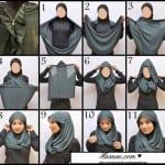 ربطات حجاب خطوة خطوة بالصور - 8