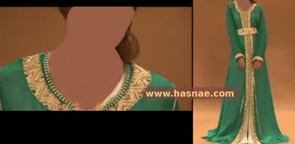 قفاطين 2013 - 2014 مغربية حصرية بأحجار و لؤلؤ - 1
