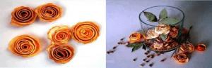 طريقة تزيين الشموع بقشور البرتقال