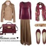 فساتين 2013 و أزياء أنيقة بألوان حيوية للمحجبات - 40