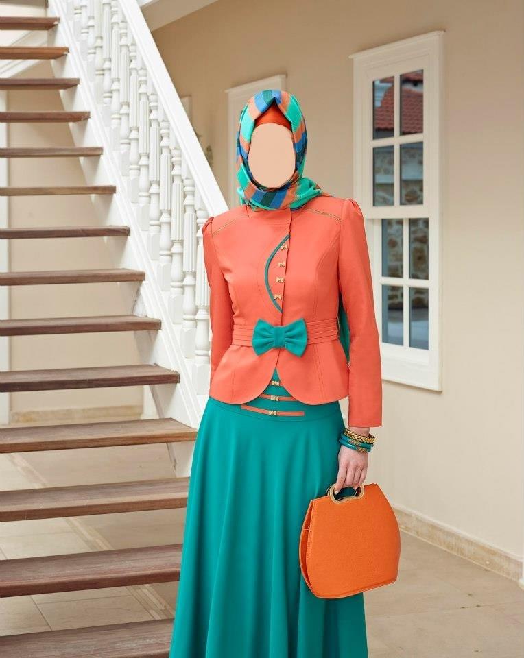 حجاب تركي 2013 اخر صيحات الموضة بالوان
