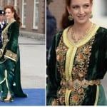 العائلة المالكة بالقفطان المغربي - 10