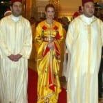 العائلة المالكة بالقفطان المغربي - 4