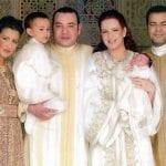 العائلة المالكة بالقفطان المغربي