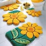 ديكور مفارش حمامات بالوان صيف 2013 - 10