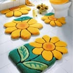 ديكور مفارش حمامات بالوان الصيف - 9