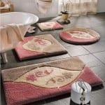 ديكور مفارش حمامات بالوان صيف 2013 - 12