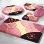 ديكور مفارش حمامات بالوان الصيف - 12