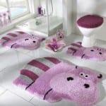 ديكور مفارش حمامات بالوان صيف 2013 - 3