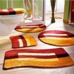 ديكور مفارش حمامات بالوان صيف 2013 - 5