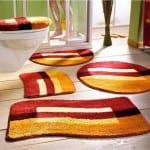 ديكور مفارش حمامات بالوان الصيف - 4