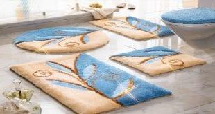 ديكور مفارش حمامات بالوان الصيف - 5