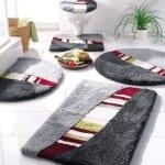 ديكور مفارش حمامات بالوان صيف 2013 - 7