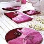 ديكور مفارش حمامات بالوان صيف 2013 - 8