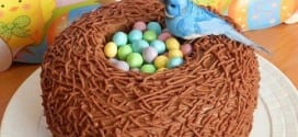 طريقة تحضير كيكة بالكاكاو و تزيينها بالحلوى